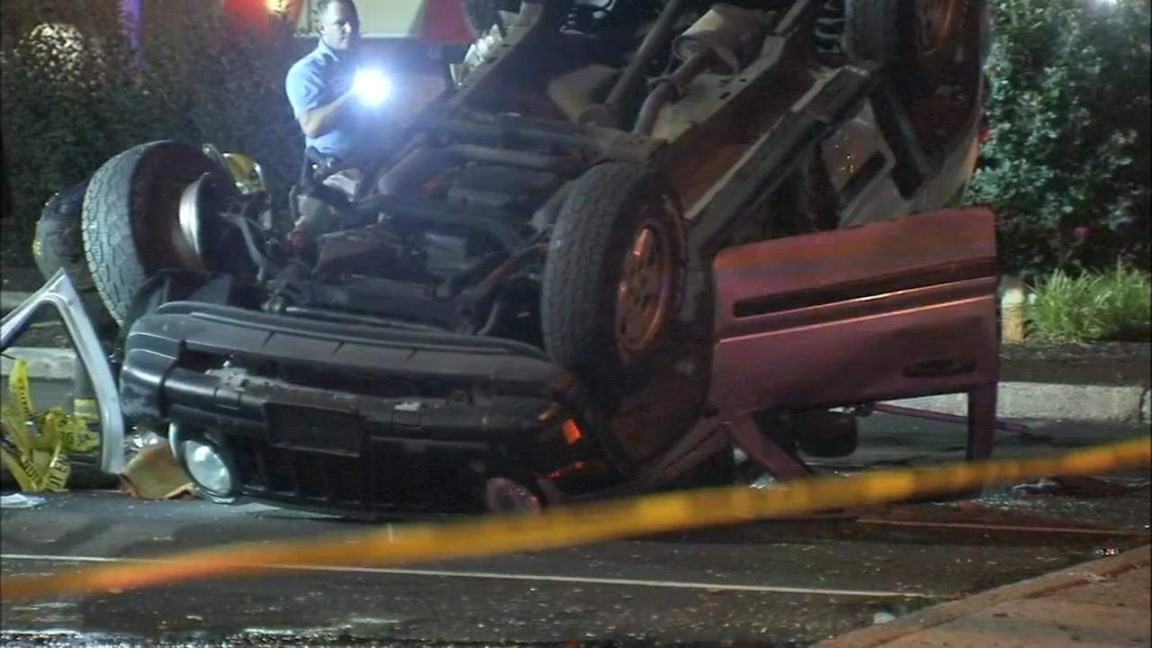 Man critical, driver flees after road rage crash