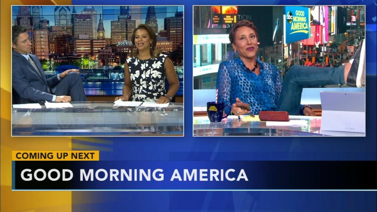 Action News morning team kicks up its heels with GMA!