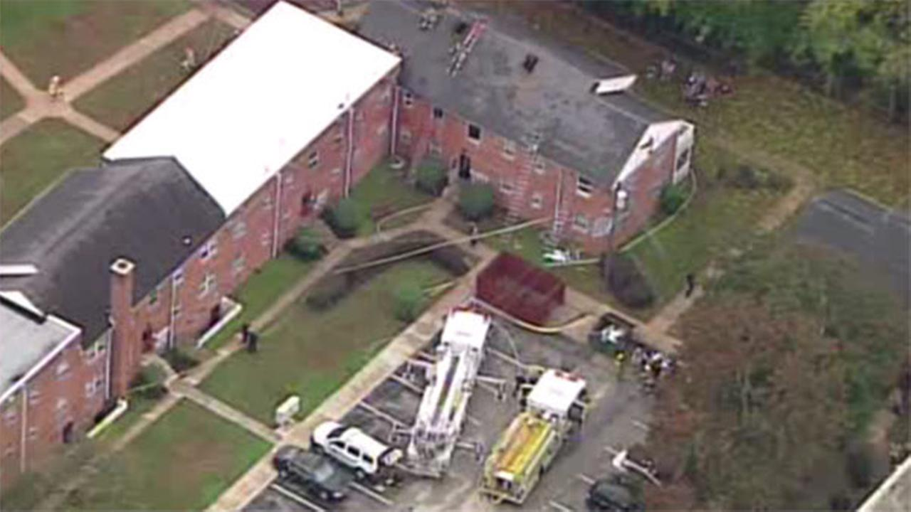 5 families displaced in Woodbury, NJ apartment fire