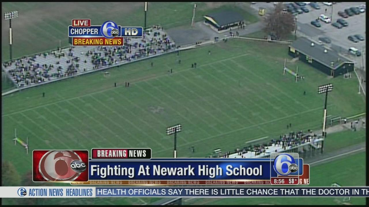 VIDEO: Fights reported after school evacuation
