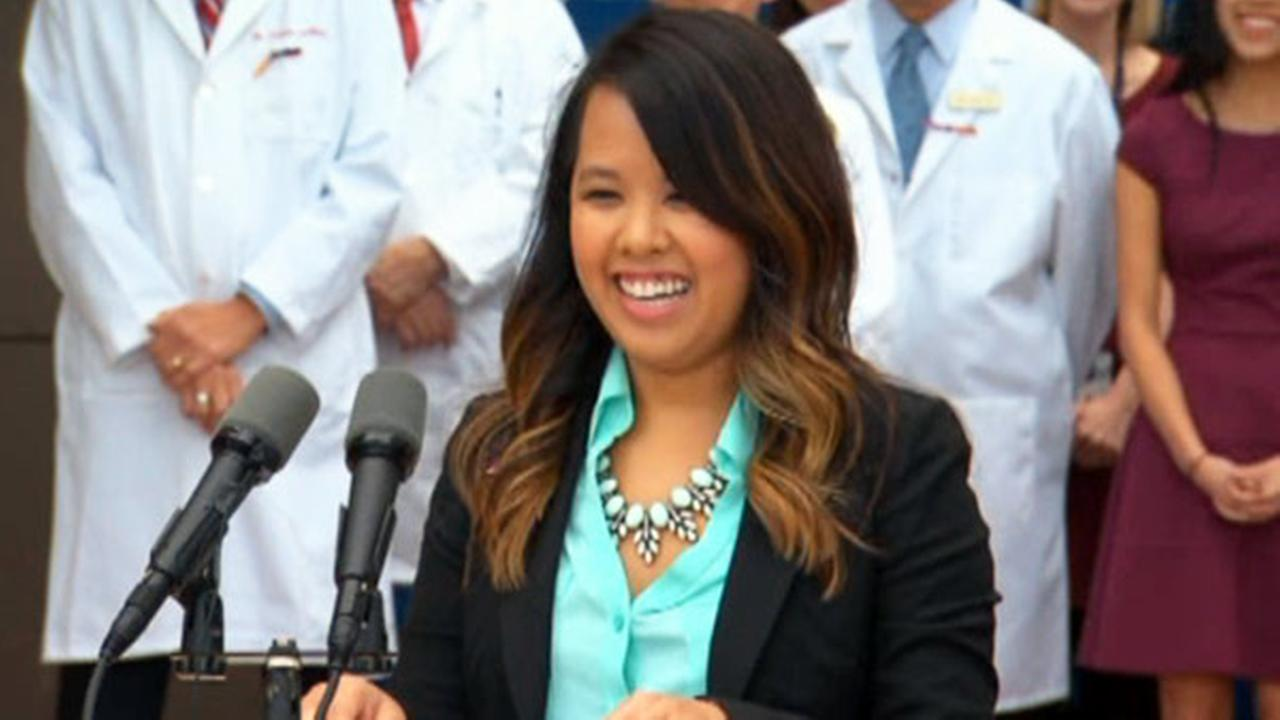 Dallas nurse Nina Pham now free of Ebola