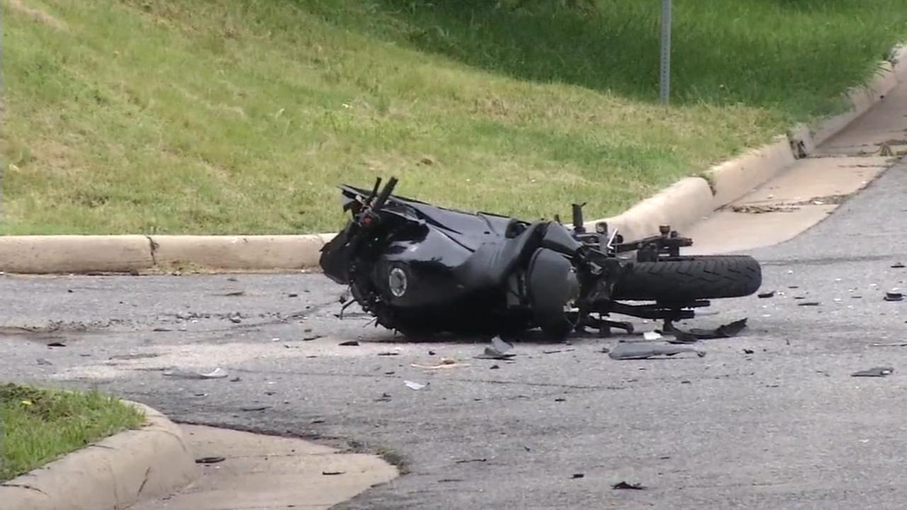 Man critical after motorcycle crash in Wilmington