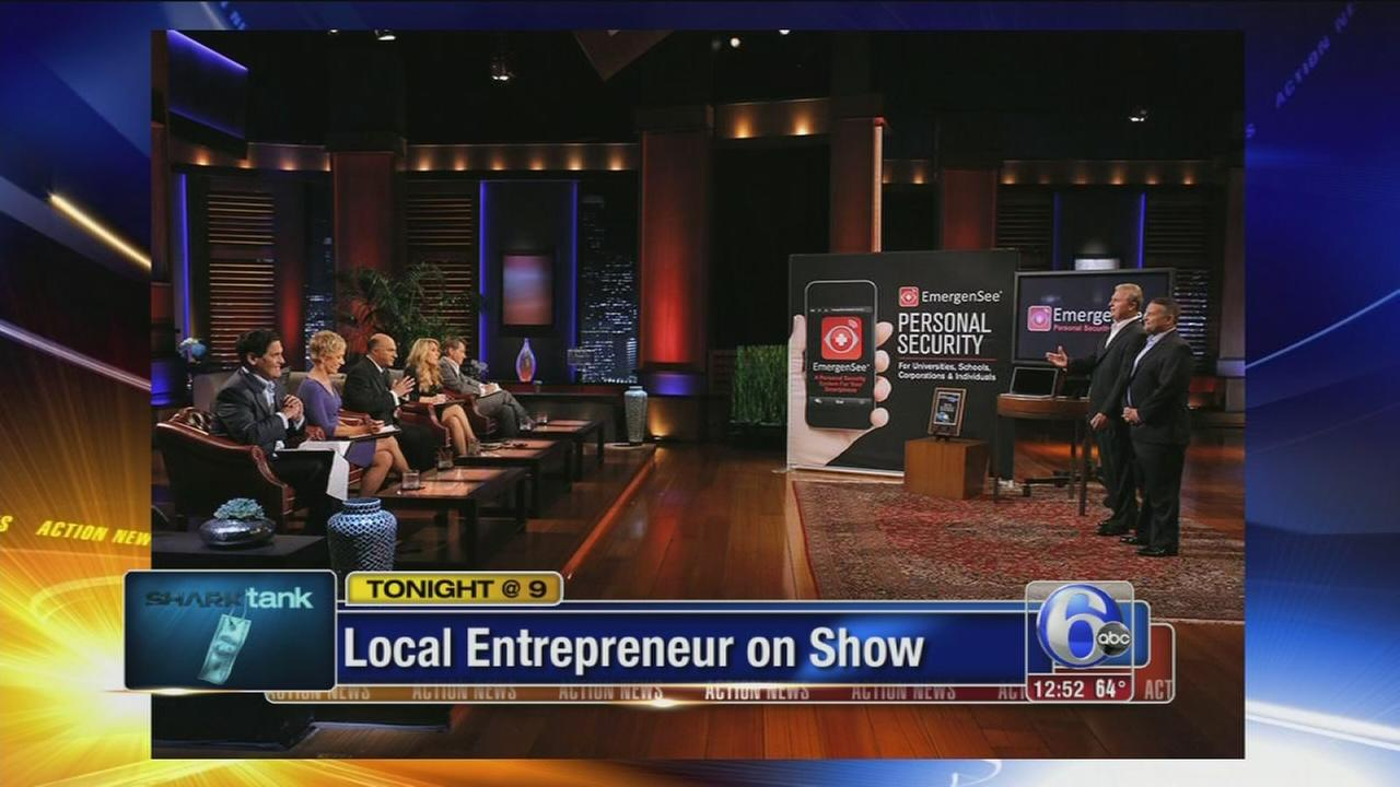 VIDEO: Local entrepreneur on Shark Tank tonight