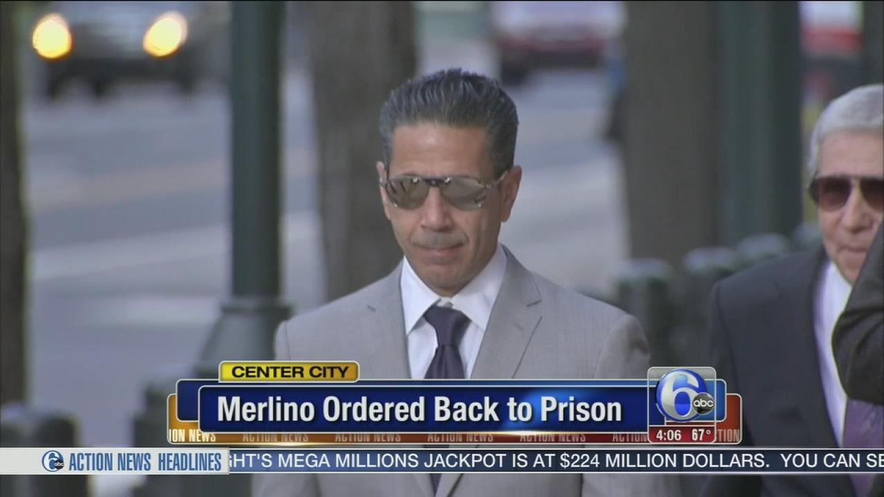 VIDEO: Merlino ordered back to prison