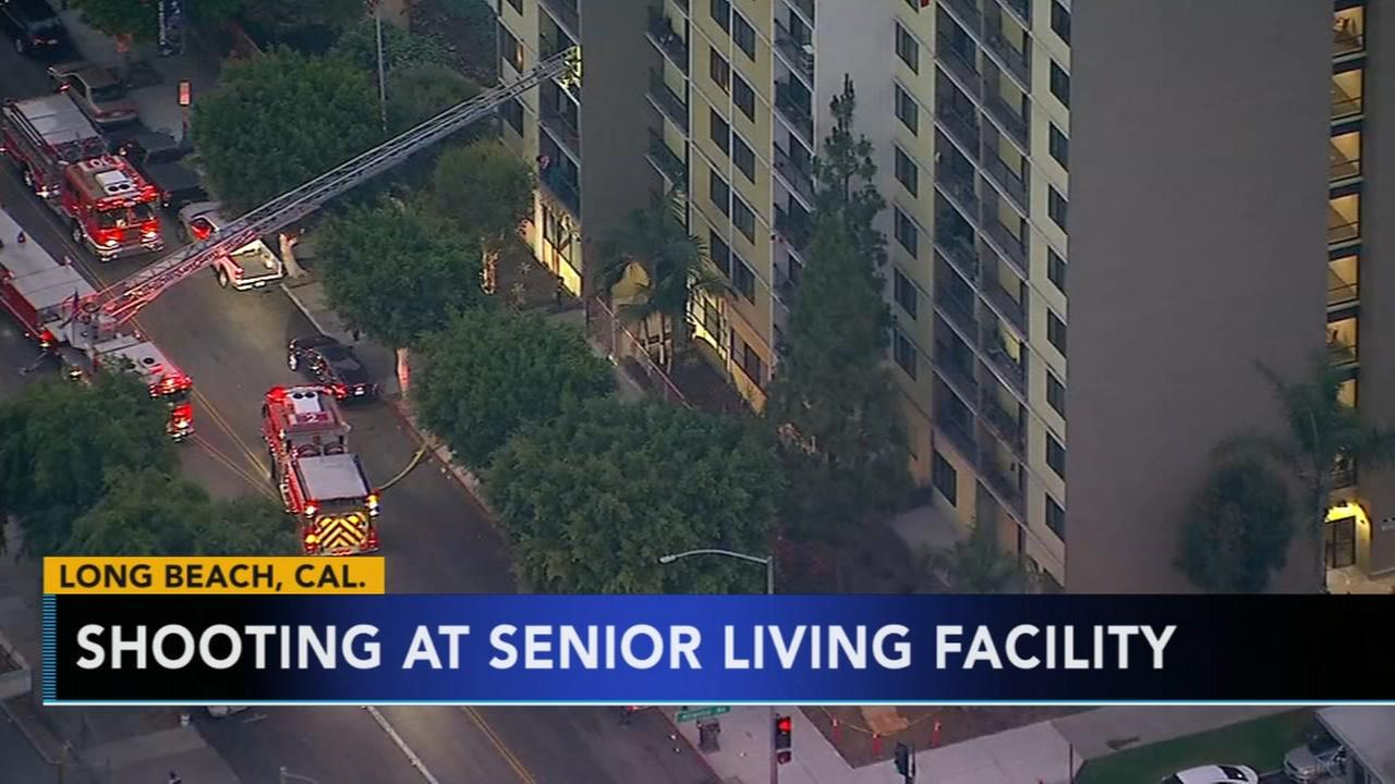 Long Beach firefighter killed in shooting at senior housing facility