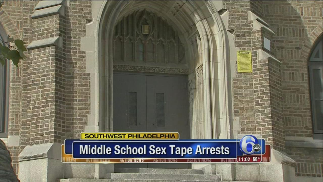 VIDEO: Middle school sex tape arrests