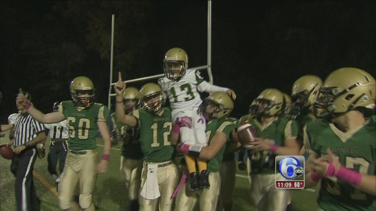 VIDEO: Boys football dream comes true