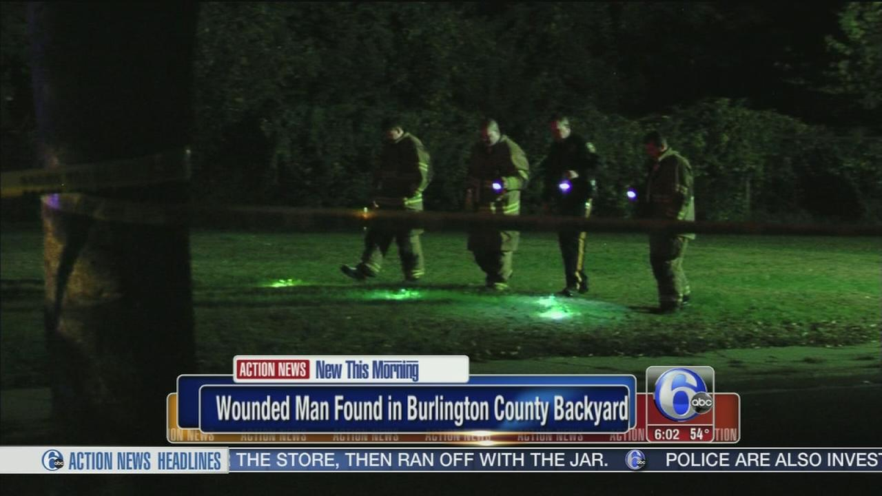VIDEO: Shooting victim found in backyard of Burlington City, N.J. residence