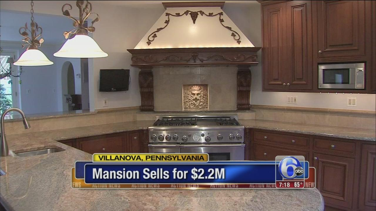 VIDEO: Pat Croces Villanova mansion sold at auction