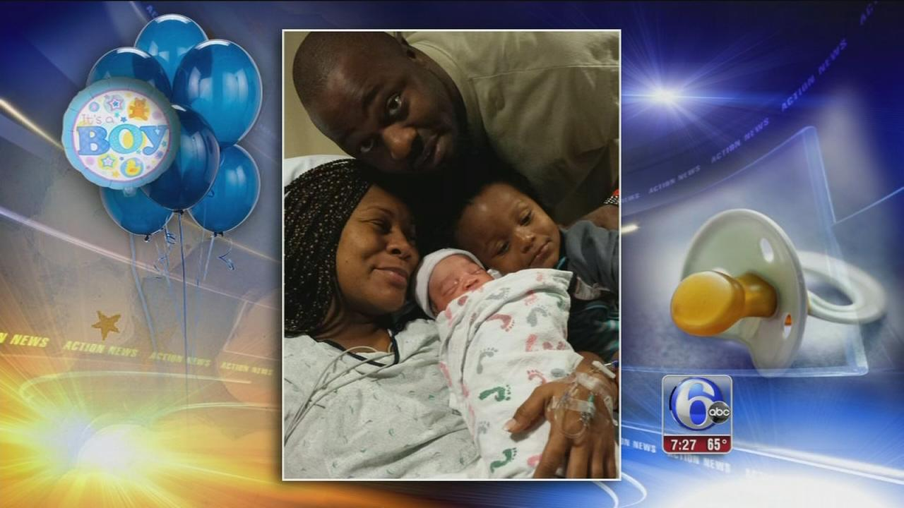 VIDEO: Action News welcomes baby Micah Bernard