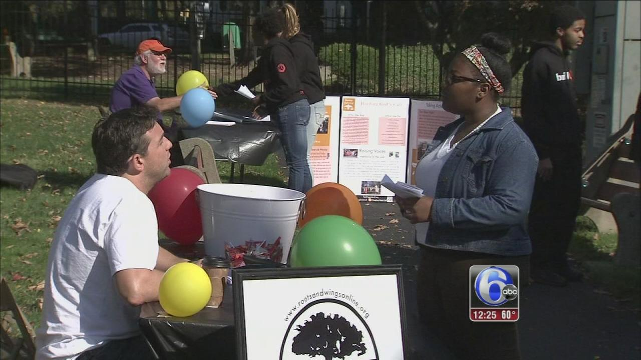VIDEO: Anti-violence fair held in memory of slain Phila. student