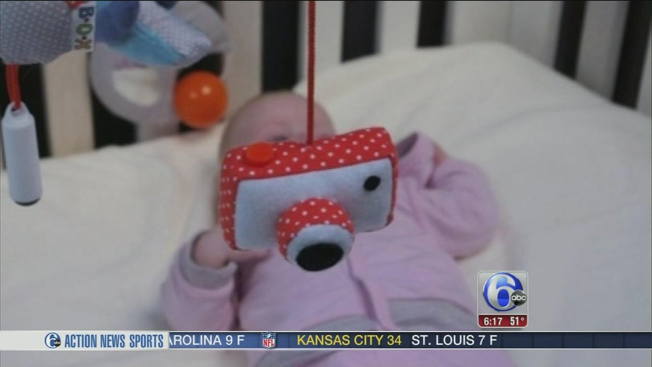 VIDEO: Infant selfies now a reality