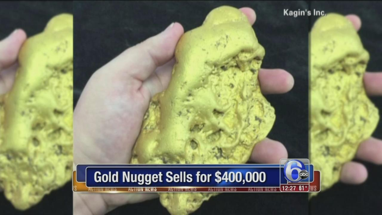 VIDEO: Gold nugget sells for $400K
