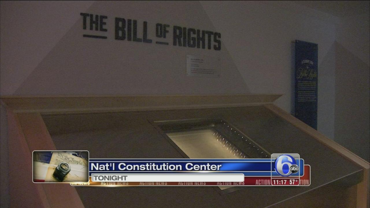 VIDEO: Constitution Center names gallery for Bush 41