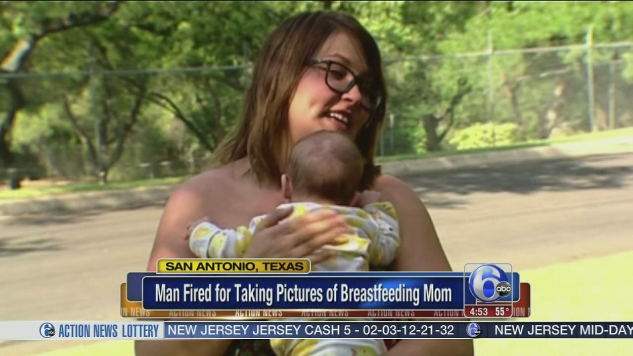 VIDEO: Man fired after taking photos of breastfeeding mom