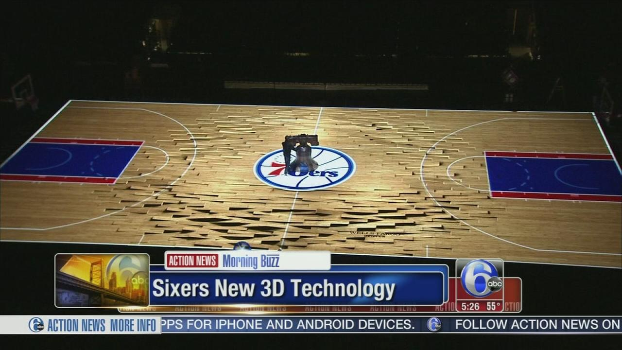 VIDEO: Sixers home opener with new 3D technology
