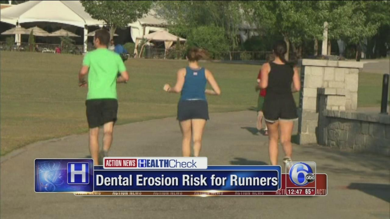 VIDEO: Runners at risk for dental problems