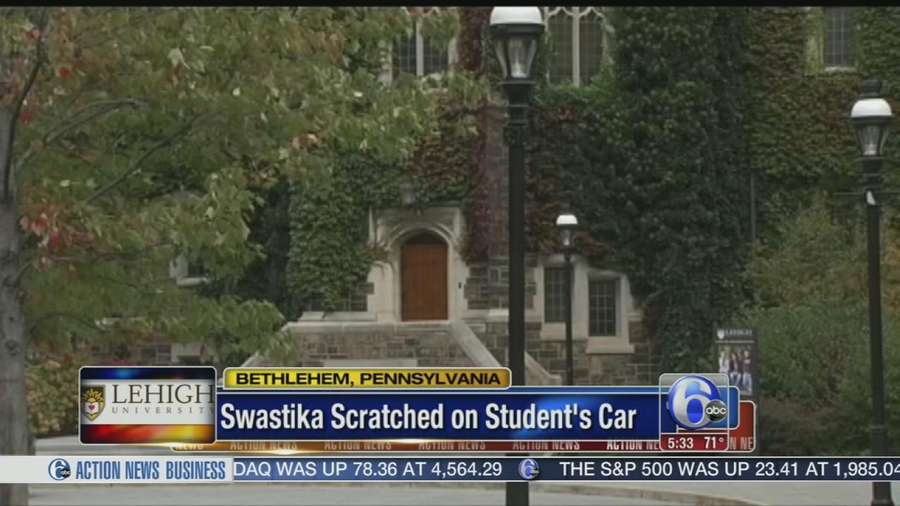 VIDEO: Vandalism at Lehigh U.