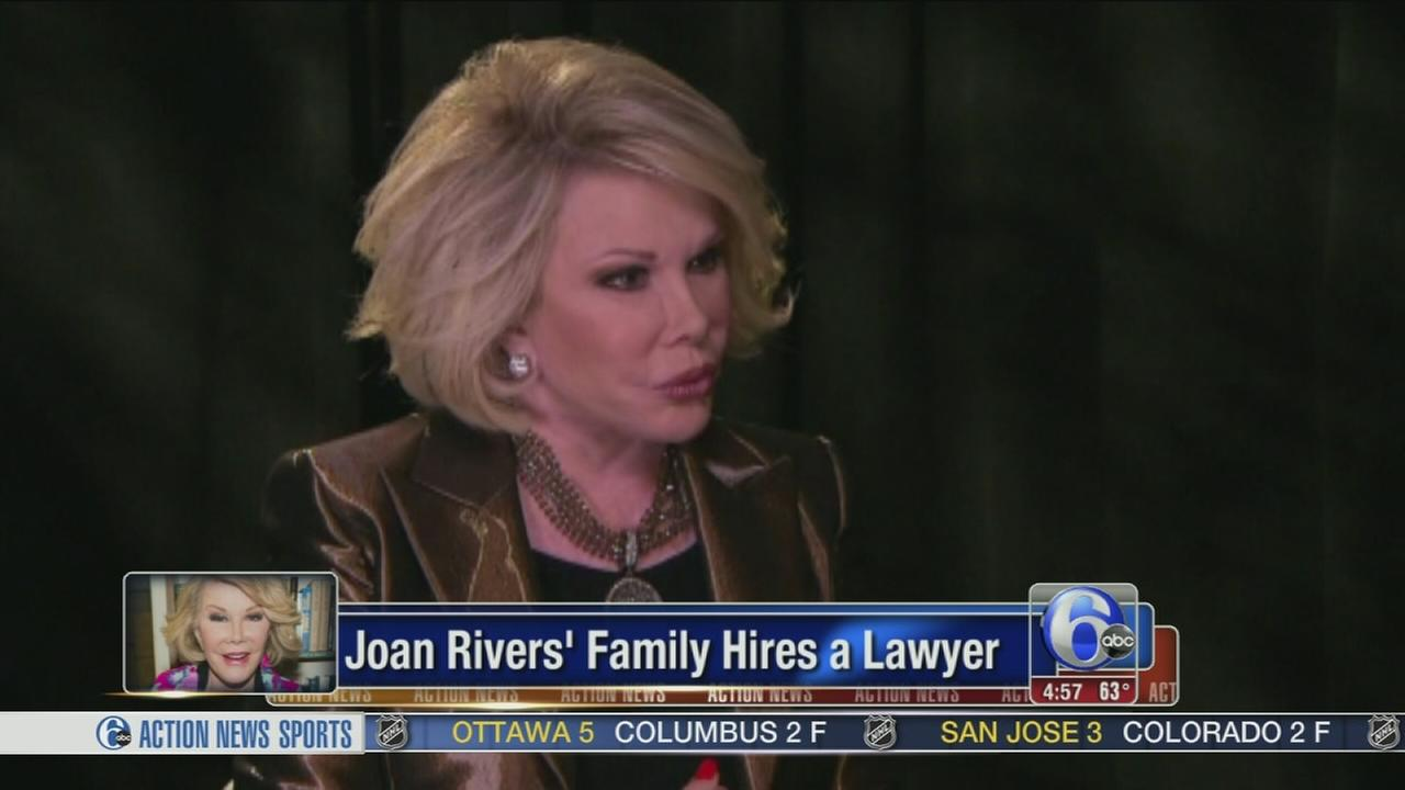 VIDEO: Joan Rivers family hires attorney