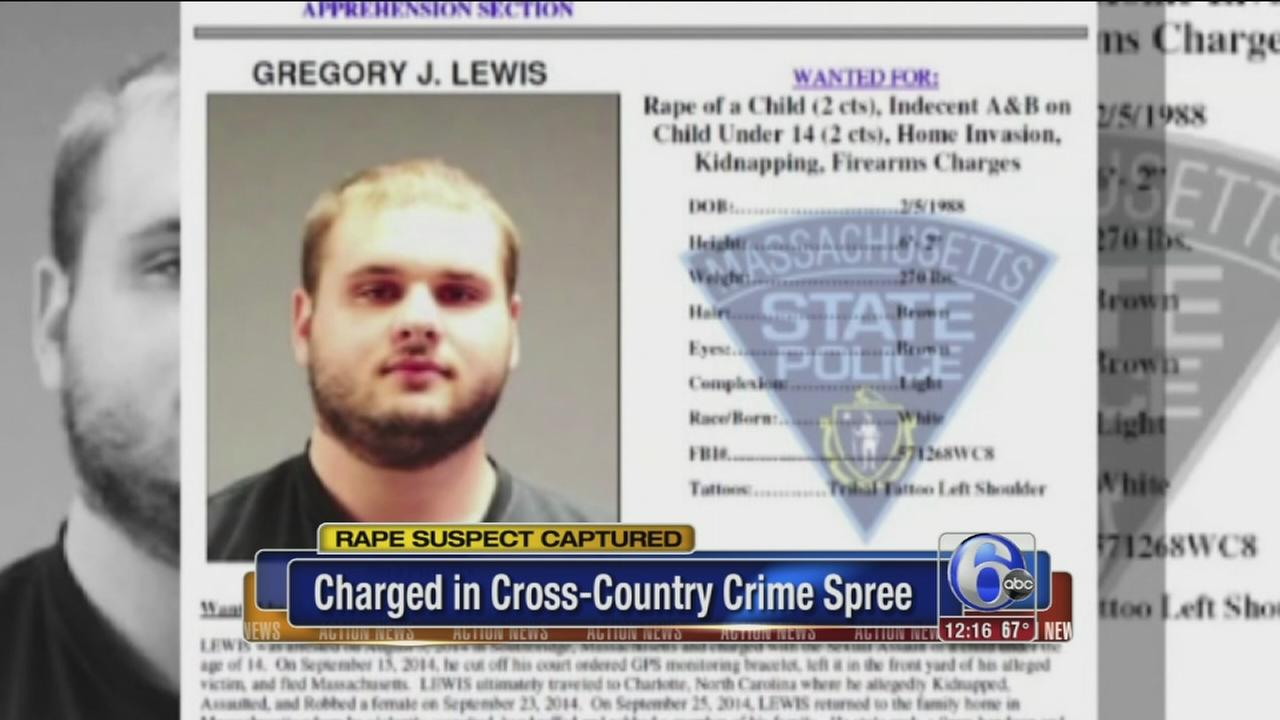 VIDEO: Serial rape suspect captured