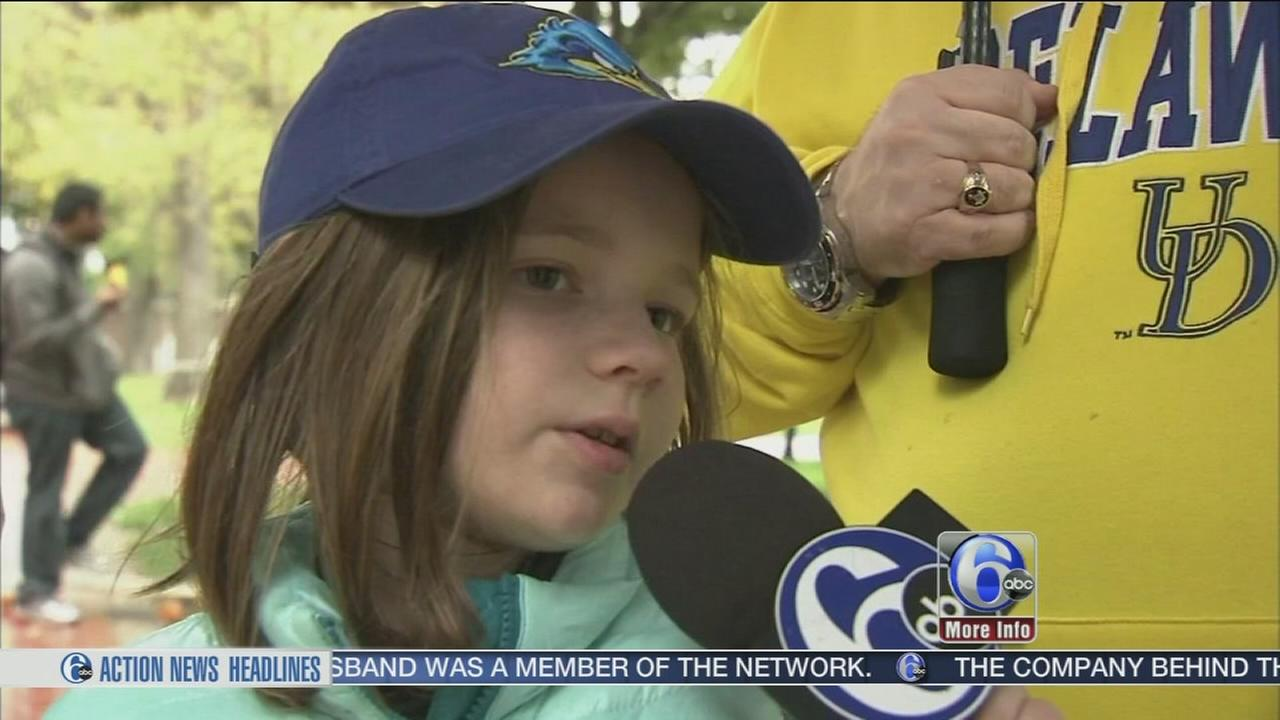 VIDEO: Delaware girl home month after vicious dog attack