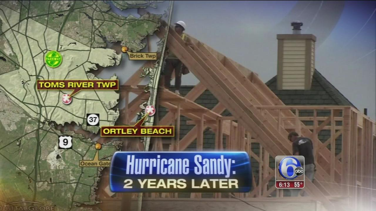 VIDEO: Rebuilding continues 2 years after Sandy