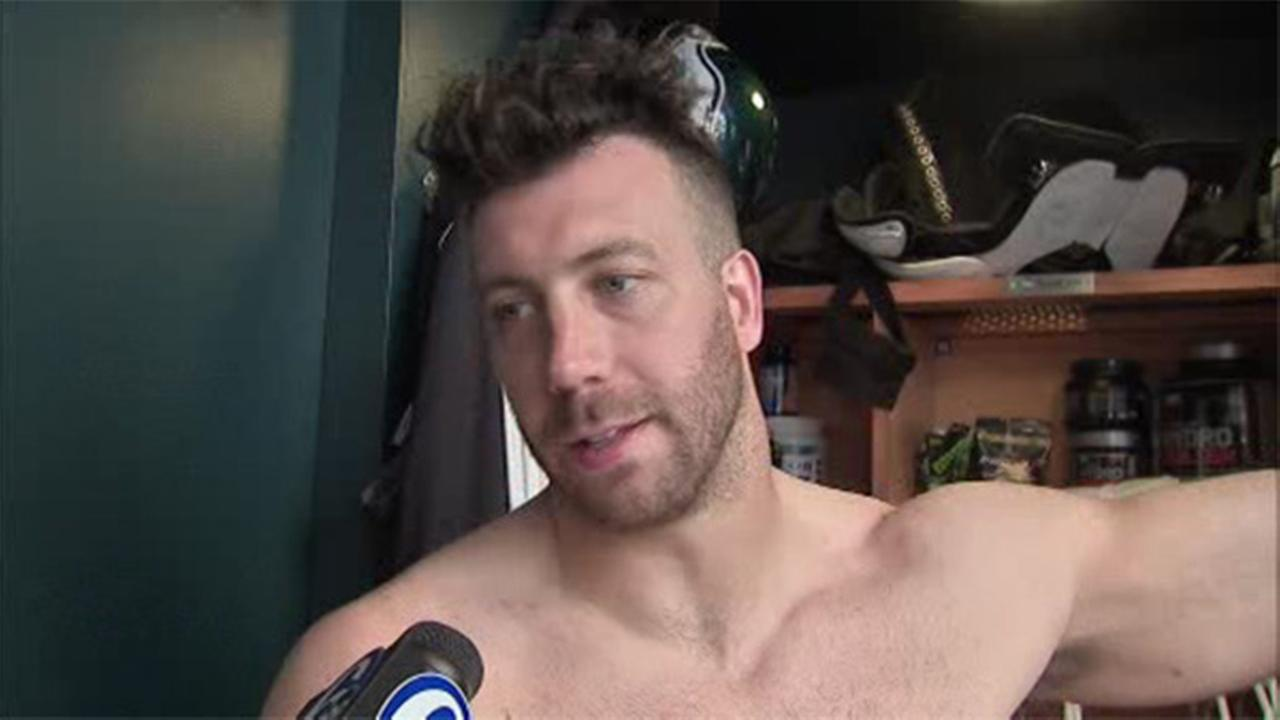 VIDEO: Houston a familiar nest for some Eagles players