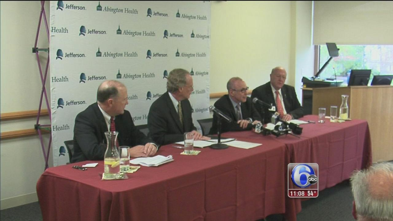 VIDEO: Jefferson, Abington Health move closer to a merger