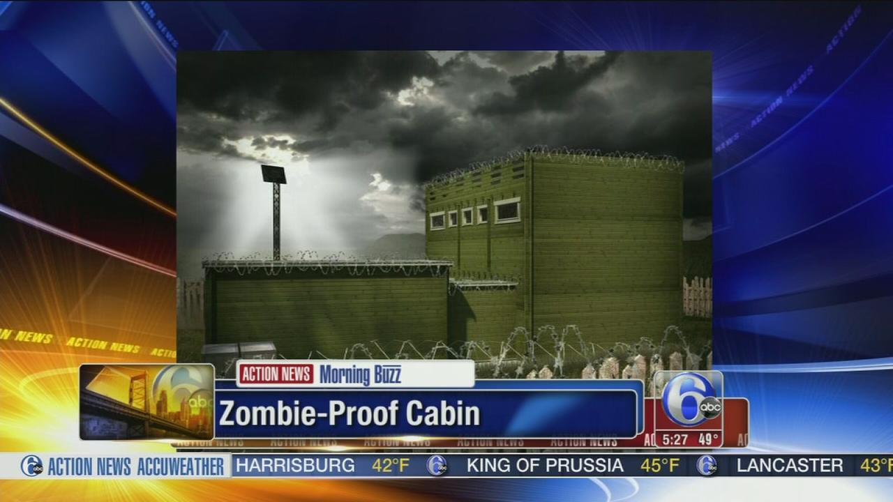 VIDEO: Zombie-proof cabin safe haven for apocalypse