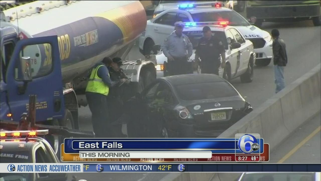 VIDEO: Roosevelt Blvd. clear after tanker crash