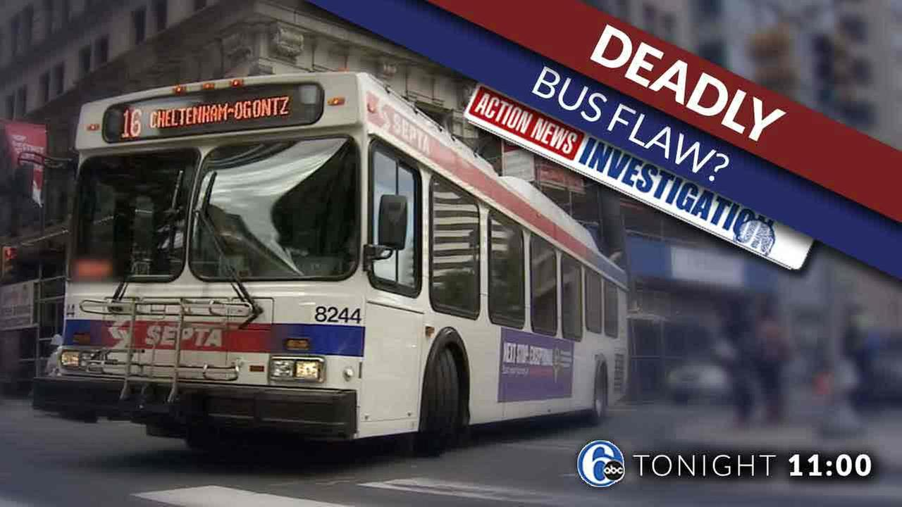 Special Investigation: Deadly flaw on SEPTAs buses?