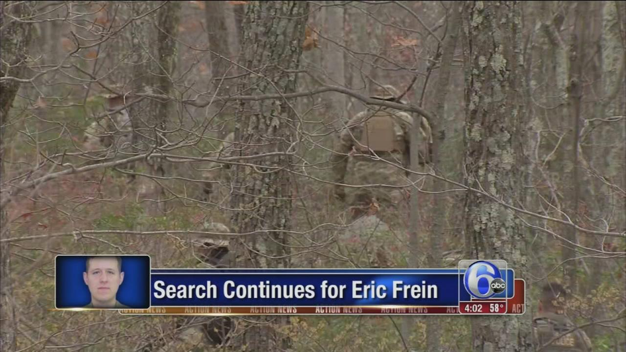 VIDEO: Manhunt continues for Eric Frein