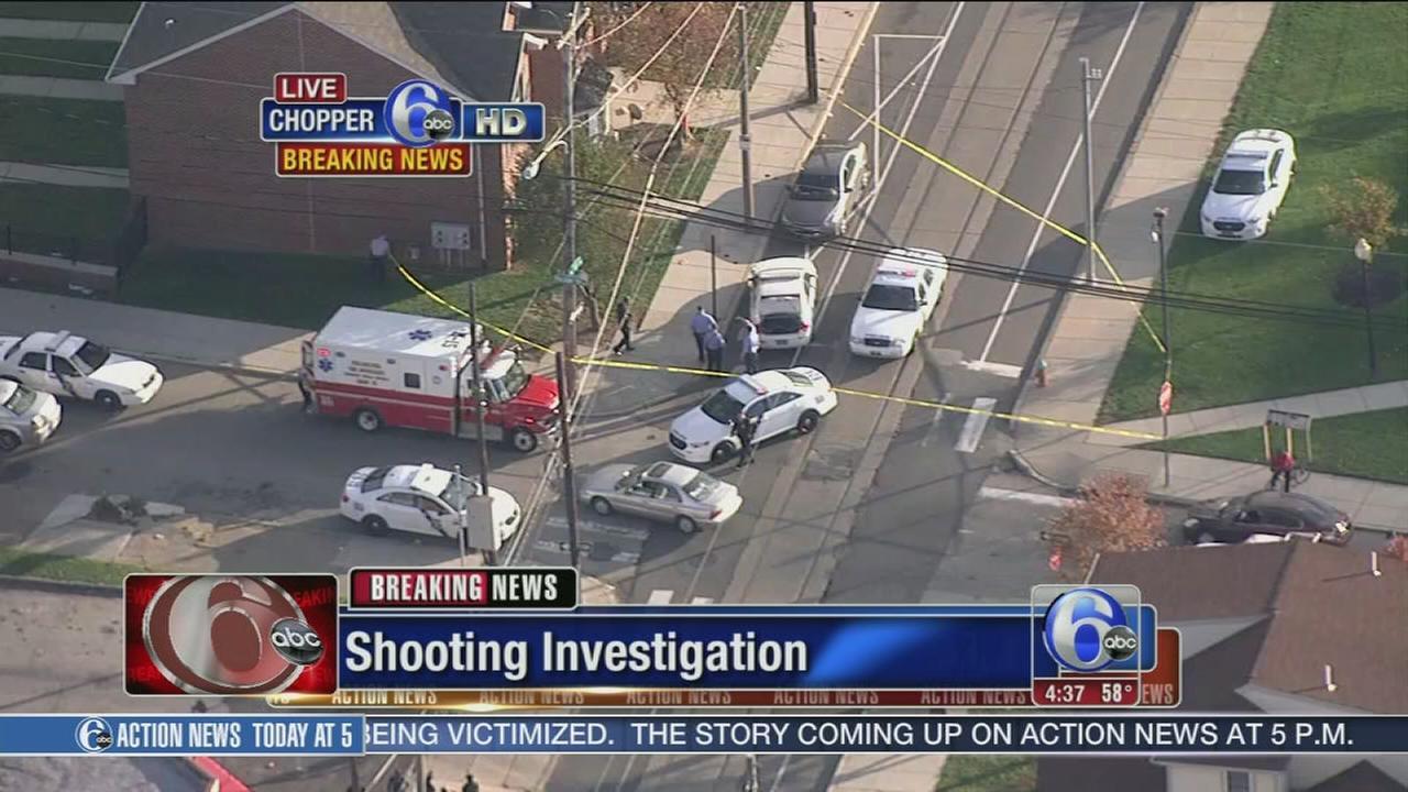VIDEO: Man injured in North Philadelphia shooting