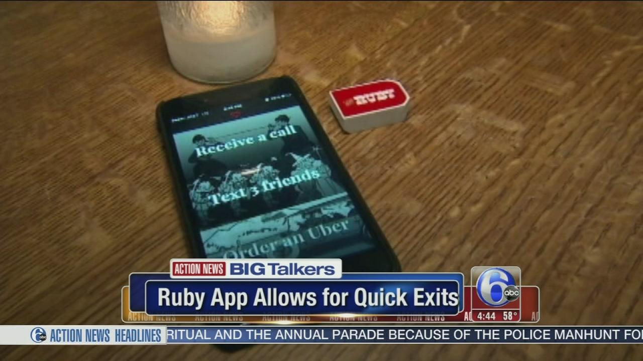 VIDEO: New Ruby app allows for quick exits