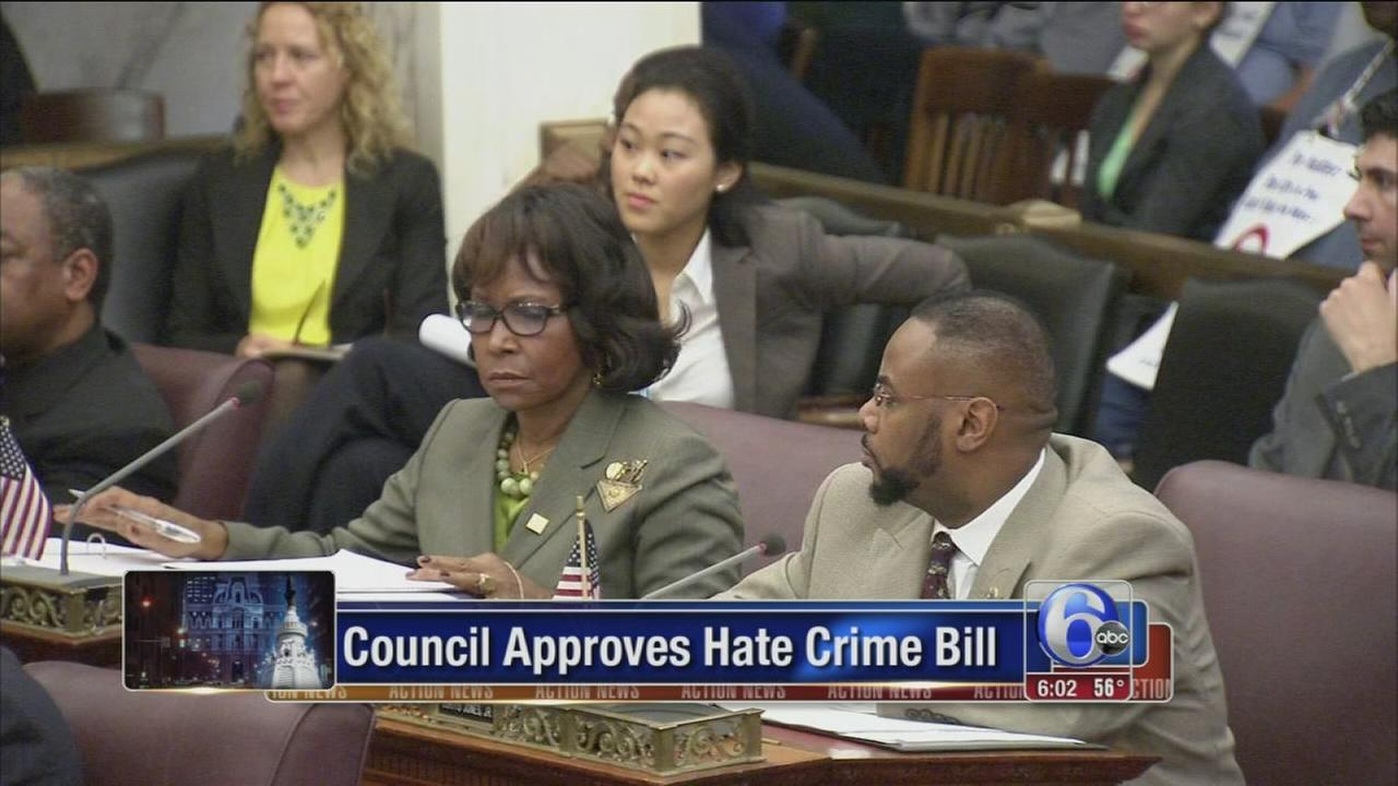 VIDEO: Hate crime bill approved in Philly after same-sex attack