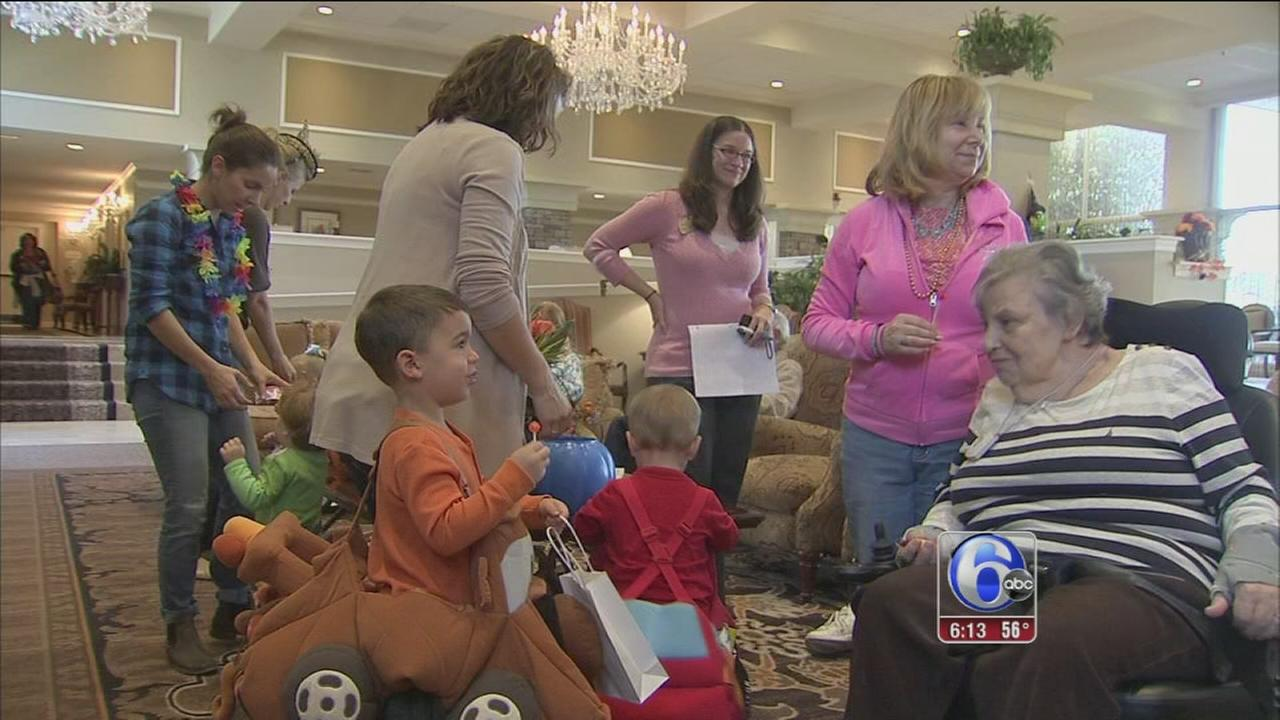 VIDEO: Early Halloween festivities for kids, seniors