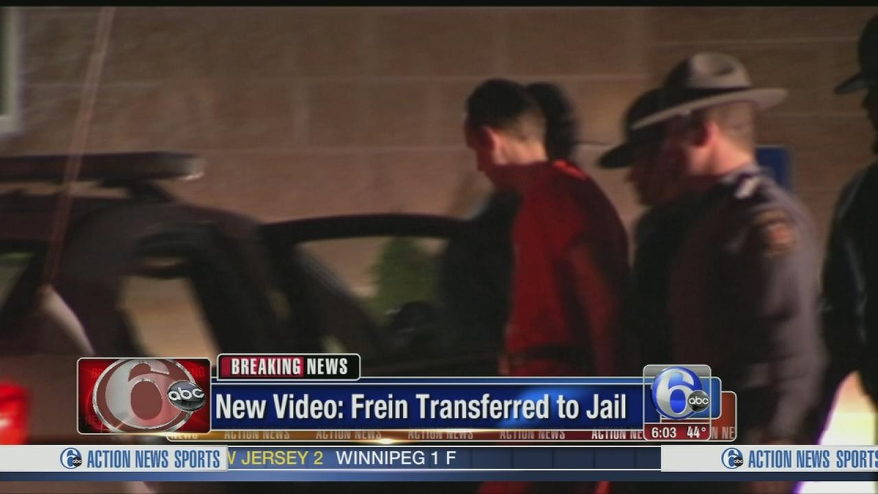 VIDEO: Eric Frein captured, transferred to jail