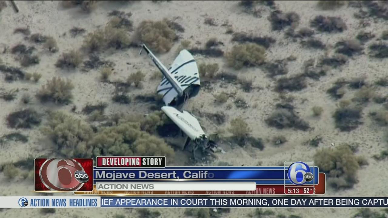 VIDEO: Witness says Virgin Galactic rocket exploded