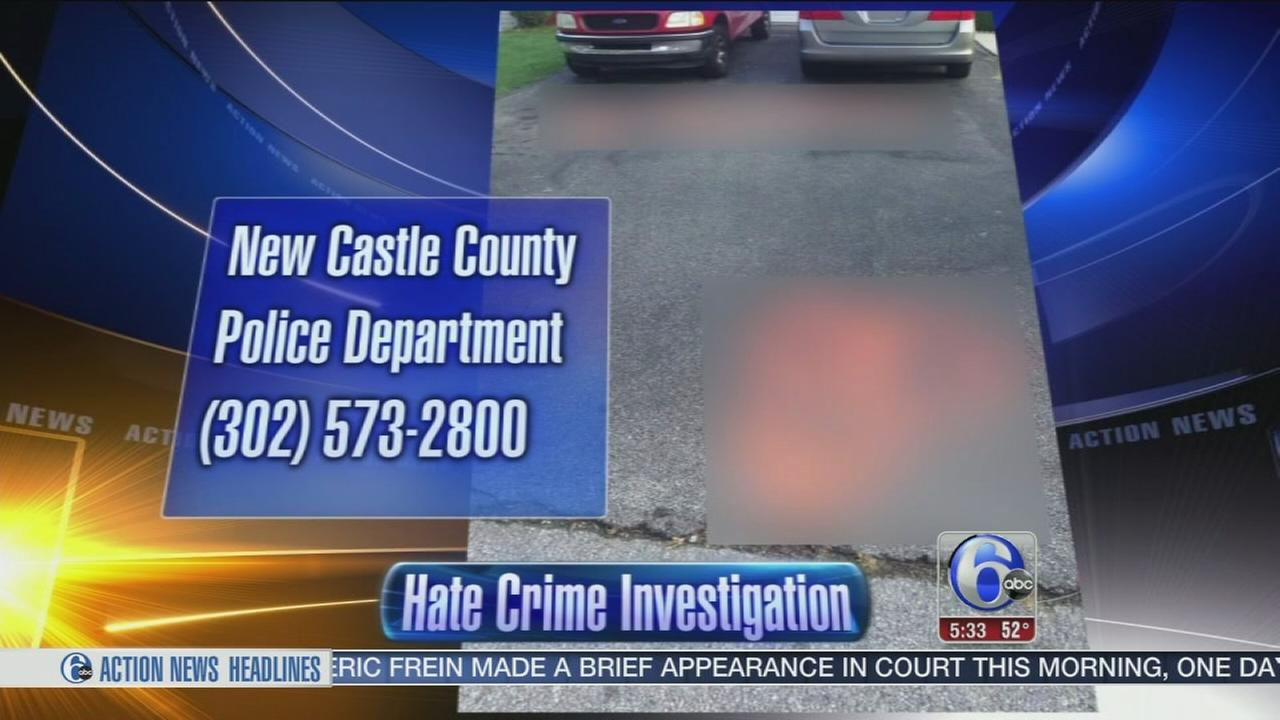 VIDEO: Hate crime investigation in New Castle