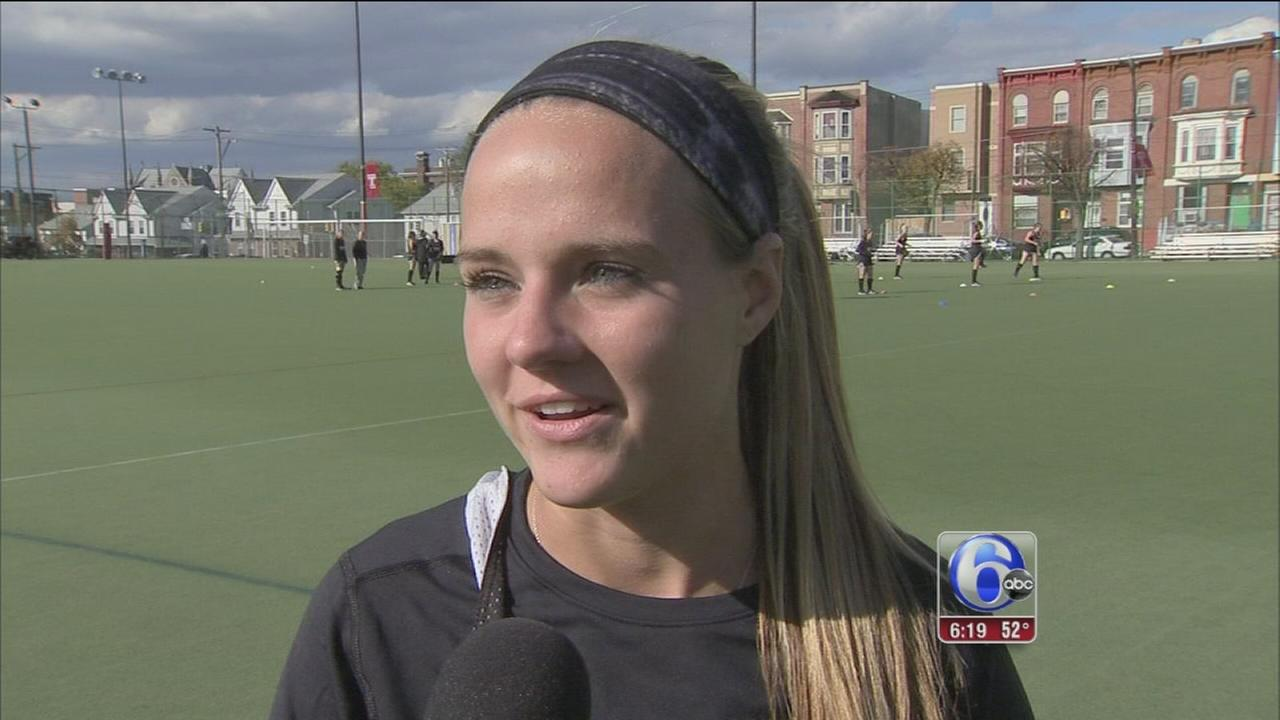 VIDEO: Temple field hockey star leads nation in scoring