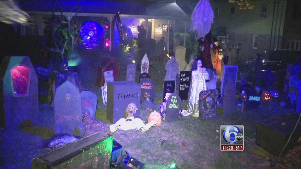 VIDEO: Dann Cuellar?s haunted Halloween house