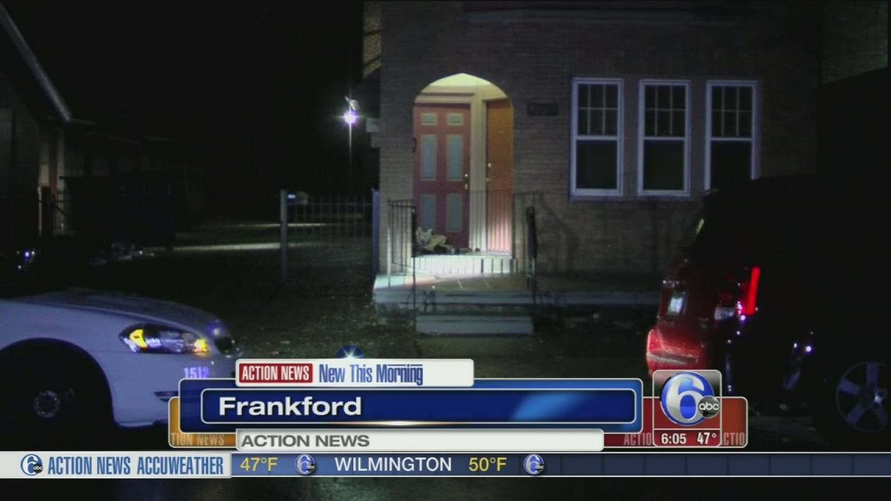 VIDEO: Police: Masked gunman shoots man in Frankford