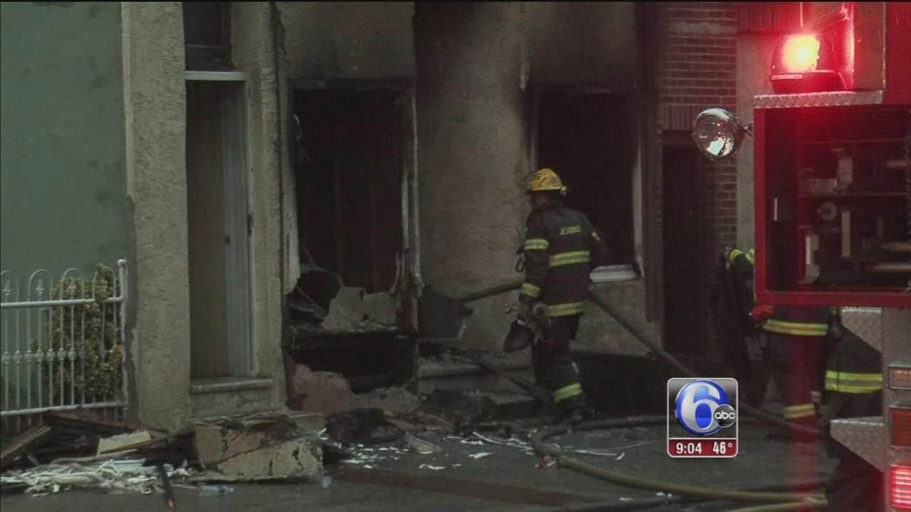 VIDEO: Man rescued from burning home in Port Richmond