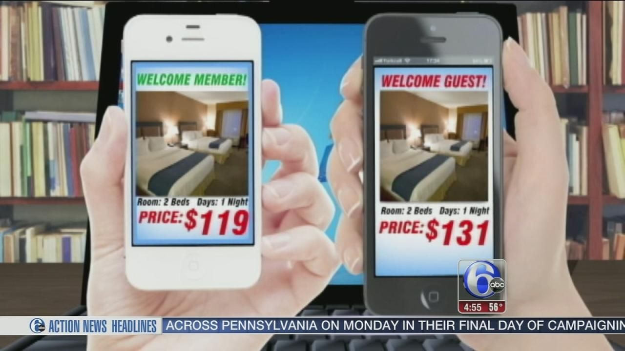 VIDEO: Different people see different prices shopping online