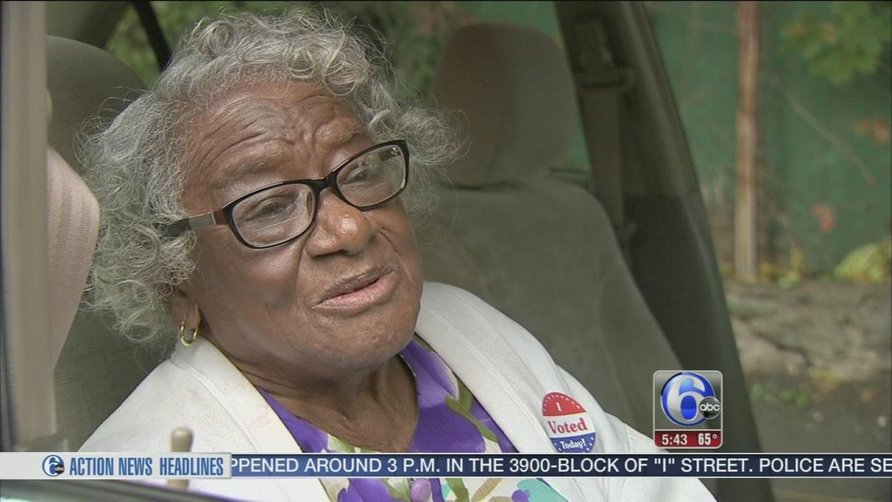 VIDEO: 101-year-old voter