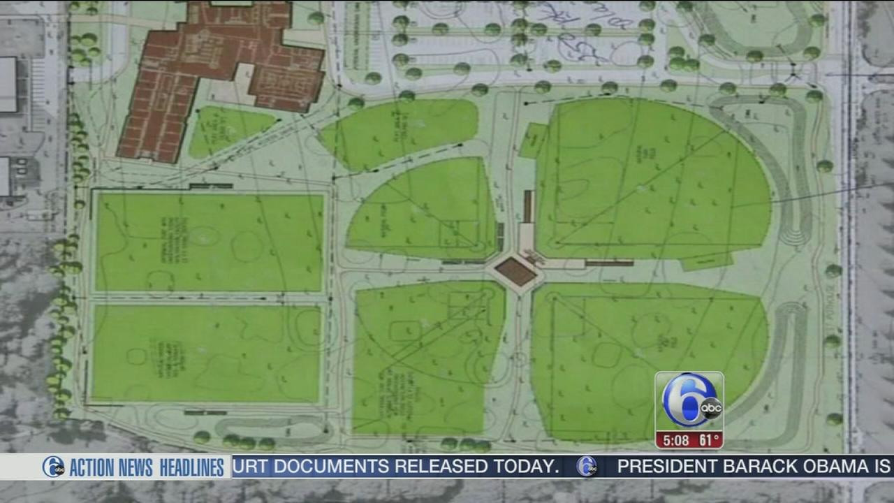 VIDEO: Proposed playing fields sparks controversy