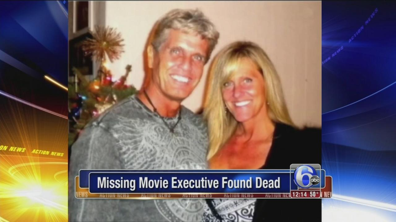 VIDEO: Missing movie executive found dead