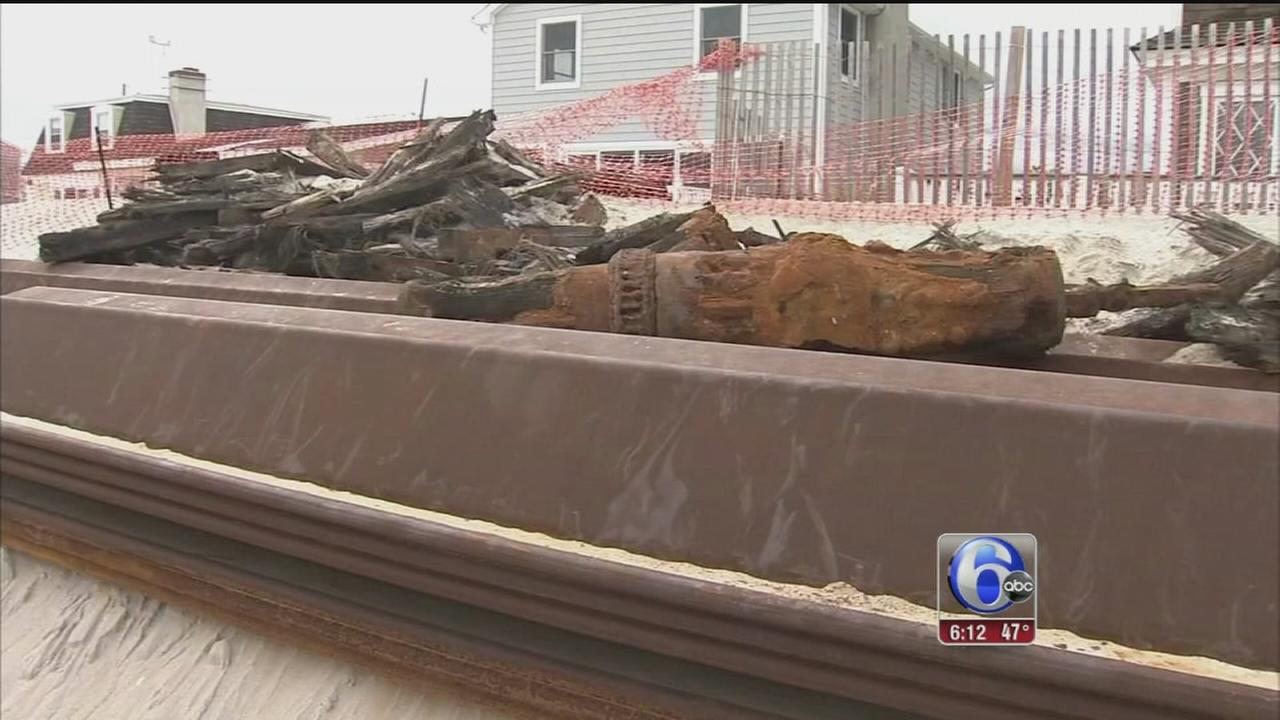 VIDEO: Shipwreck possibly from 1850s found in Ocean County