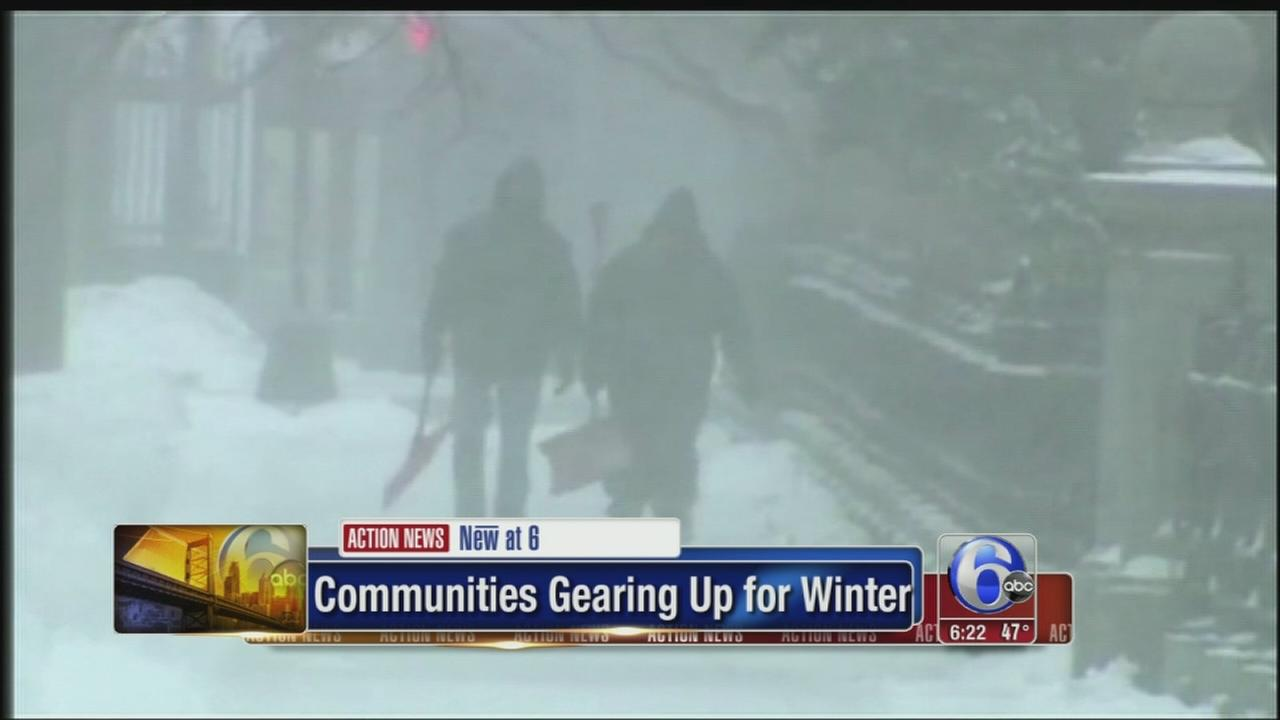 VIDEO: Lehigh Valley communities get ready for Winter