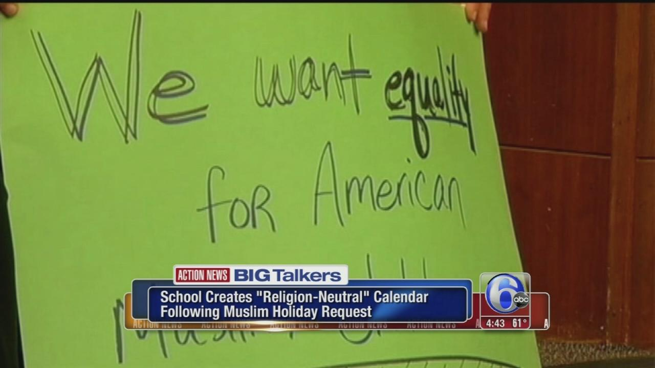 VIDEO: Maryland school holiday names stripped